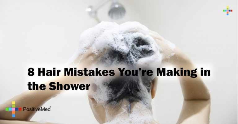 8 Hair Mistakes You're Making in the Shower