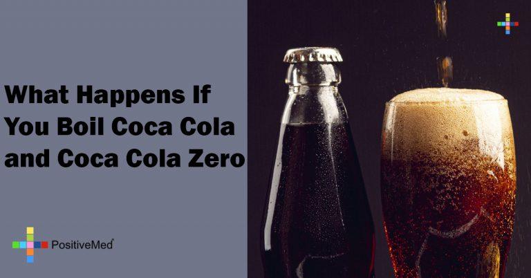What Happens If You Boil Coca Cola and Coca Cola Zero