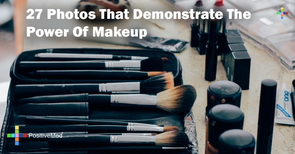 27 Photos That Demonstrate The Power Of Makeup