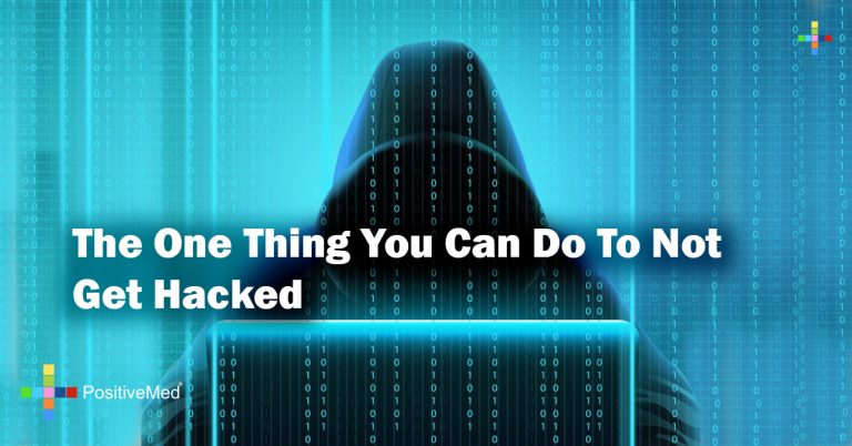 The One Thing You Can Do To Not Get Hacked