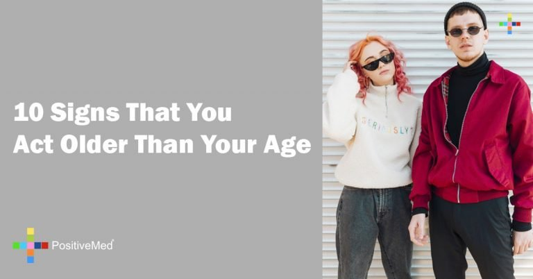 10 Signs That You Act Older Than Your Age