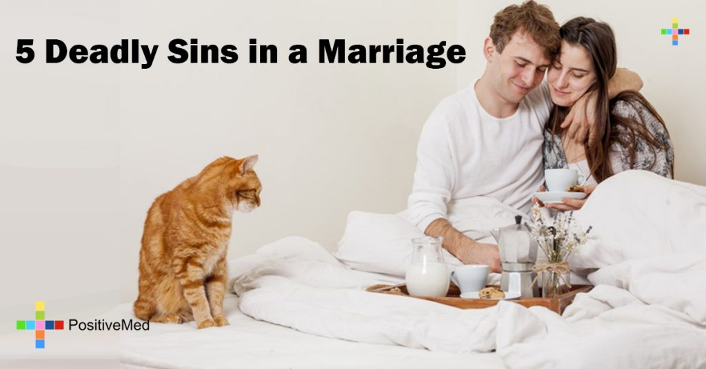 5 Deadly Sins in a Marriage
