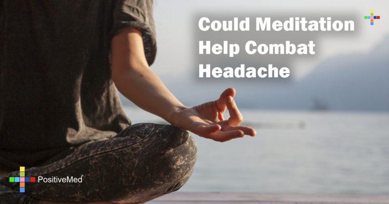 Could Meditation Help Combat Headache
