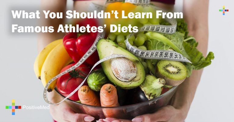 What You Shouldn't Learn From Famous Athletes' Diets