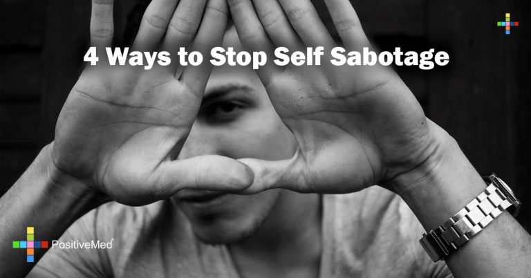 4 Ways to Stop Self Sabotage