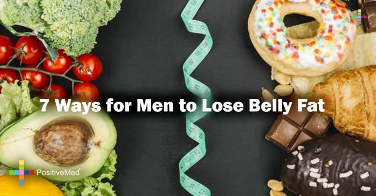 7 Ways for Men to Lose Belly Fat