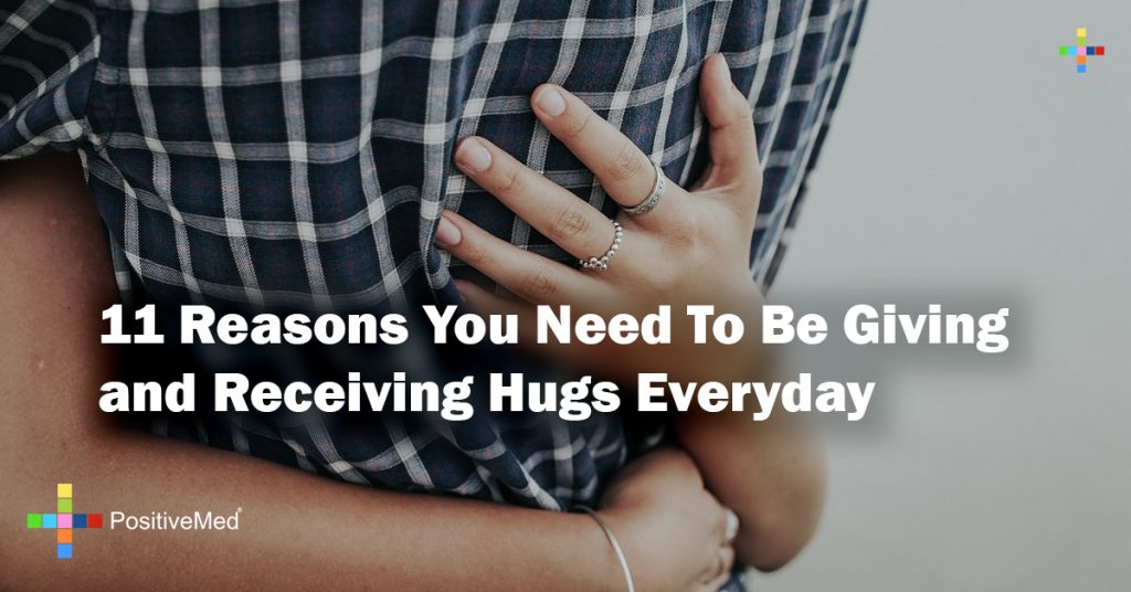11 Reasons You Need To Be Giving and Receiving Hugs Everyday