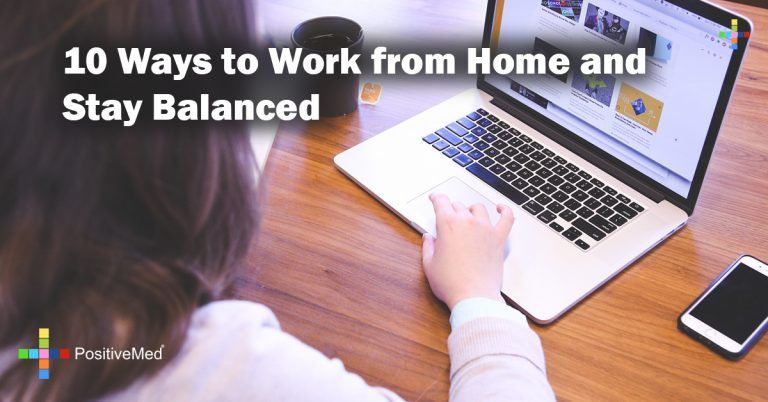 10 Ways to Work from Home and Stay Balanced