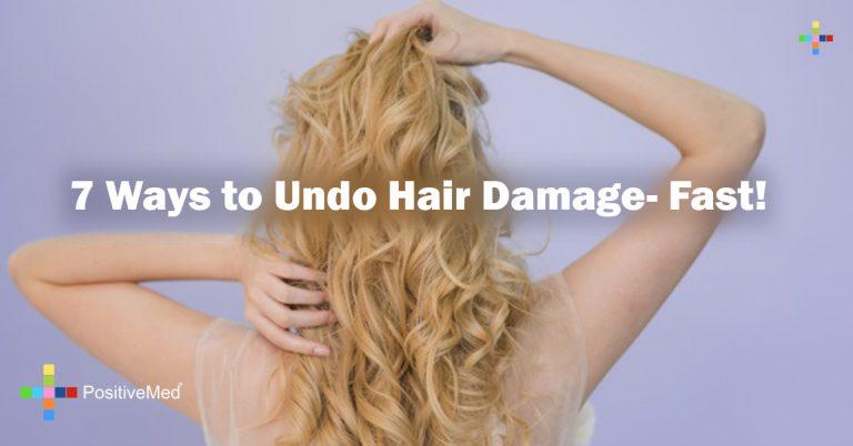 7 Ways to Undo Hair Damage- Fast!