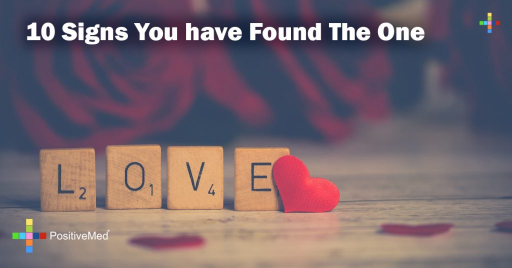 10 Signs You have Found The One