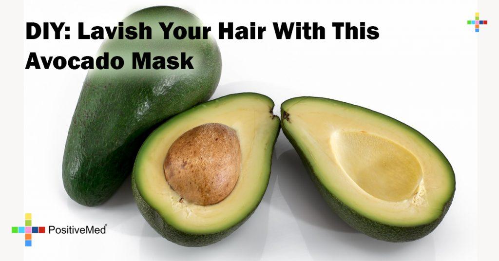 DIY: Lavish Your Hair With This Avocado Mask