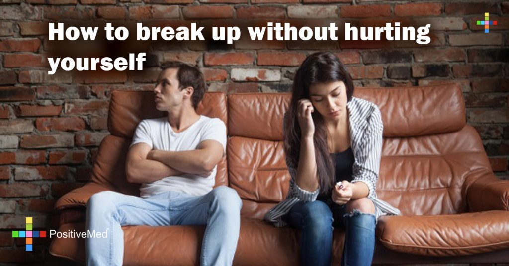 How to break up without hurting yourself