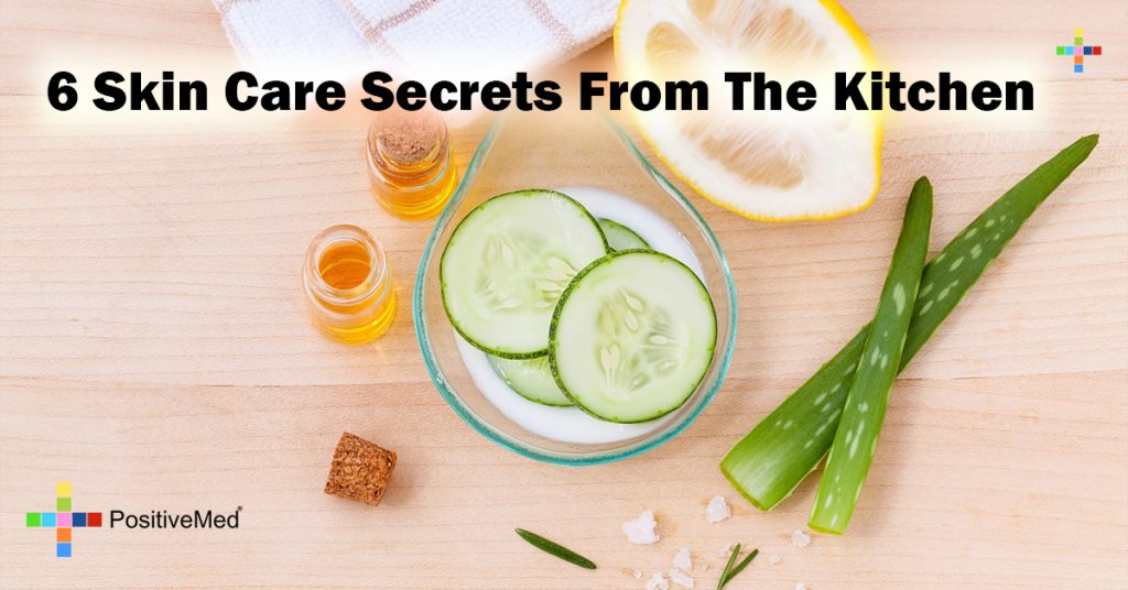 6 Skin Care Secrets From The Kitchen