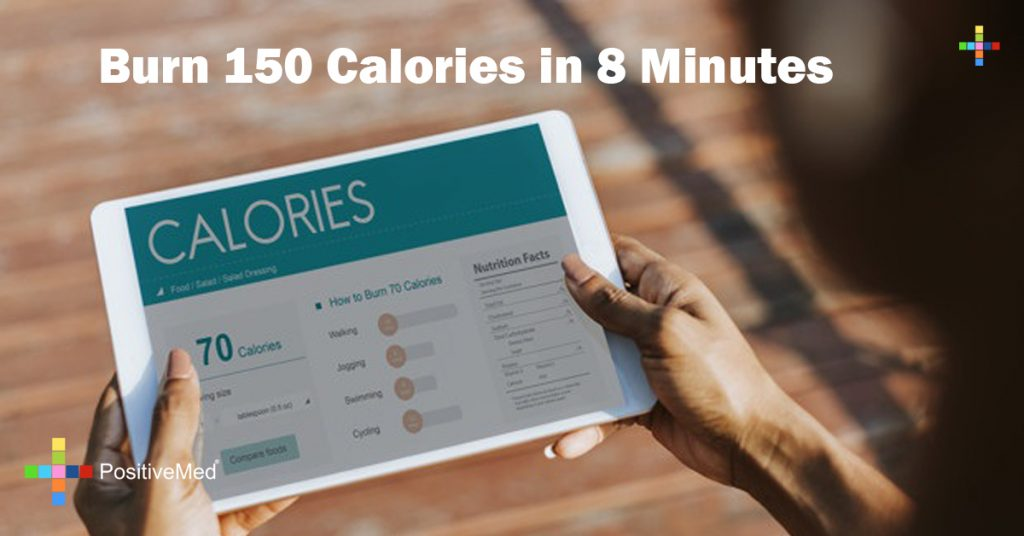 Burn 150 Calories in 8 Minutes