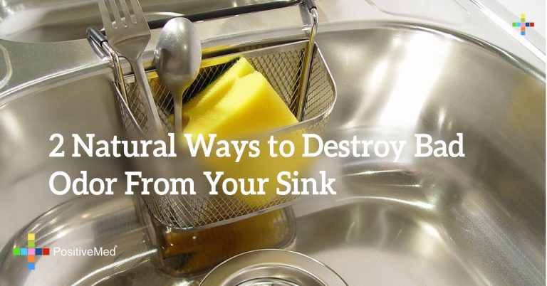 2 Natural Ways to Destroy Bad Odor From Your Sink