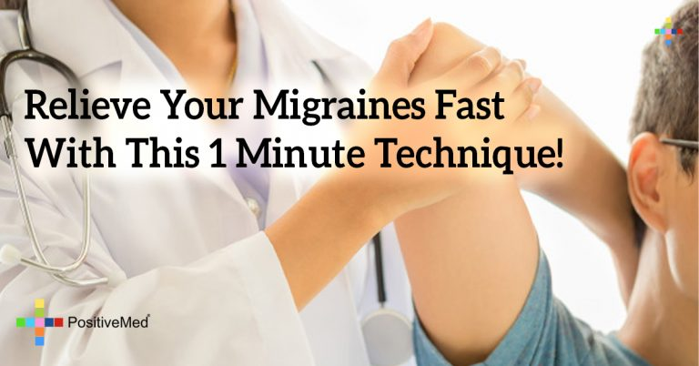 Relieve Your Migraines Fast With This 1 Minute Technique!