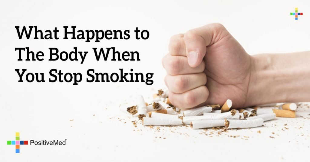 What Happens to The Body When You Stop Smoking