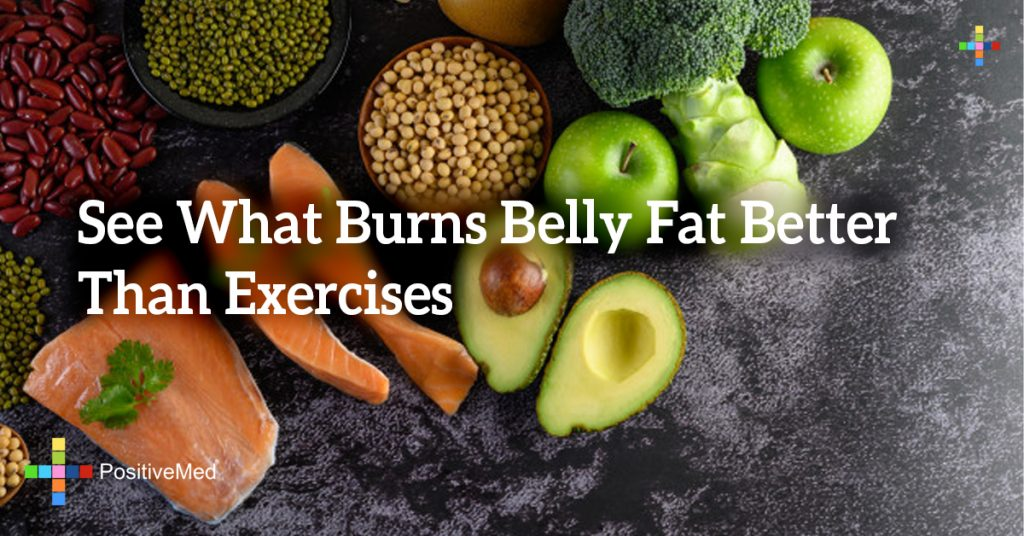 See What Burns Belly Fat Better Than Exercises