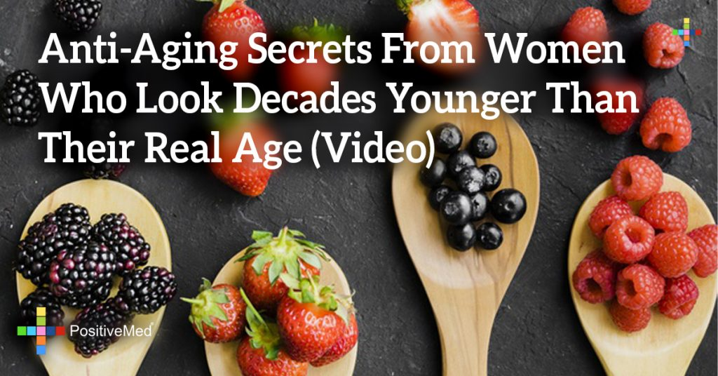 Anti-Aging Secrets From Women Who Look Decades Younger Than Their Real Age (Video)