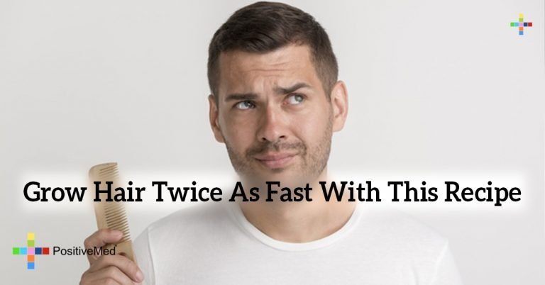 Grow Hair Twice As Fast With This Recipe