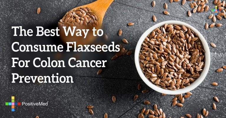 The Best Way to Consume Flaxseeds For Colon Cancer Prevention