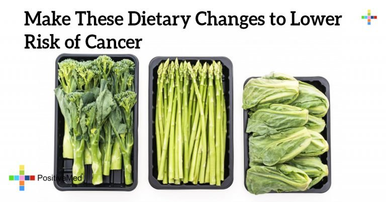 Make These Dietary Changes to Lower Risk of Cancer