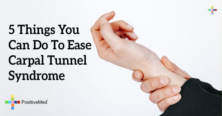 5 Things You Can Do To Ease Carpal Tunnel Syndrome