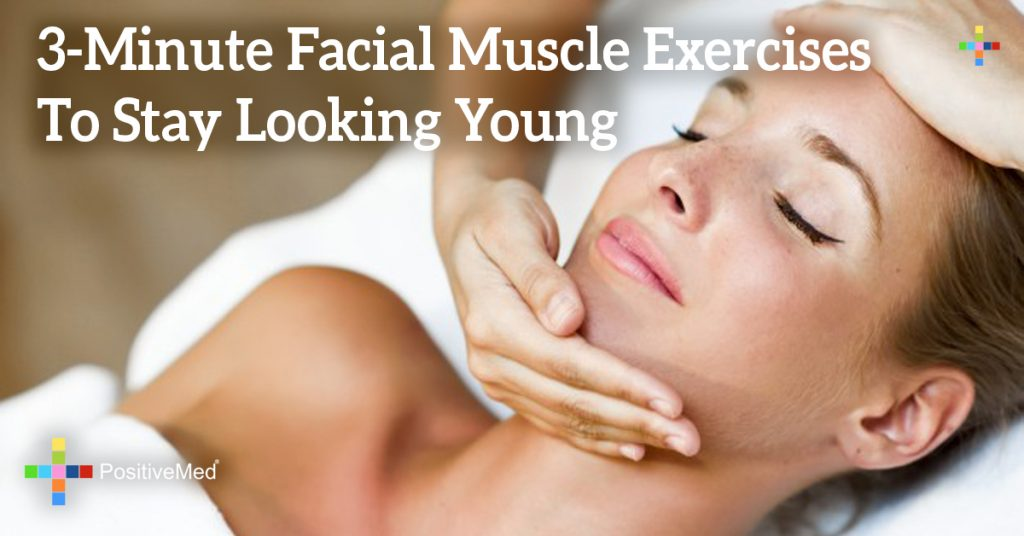 3-Minute Facial Muscle Exercises To Stay Looking Young