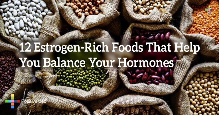 12 Estrogen-Rich Foods That Help You Balance Your Hormones