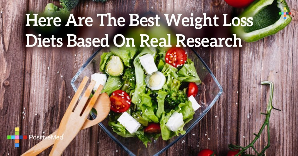 Here Are The Best Weight Loss Diets Based On Real Research