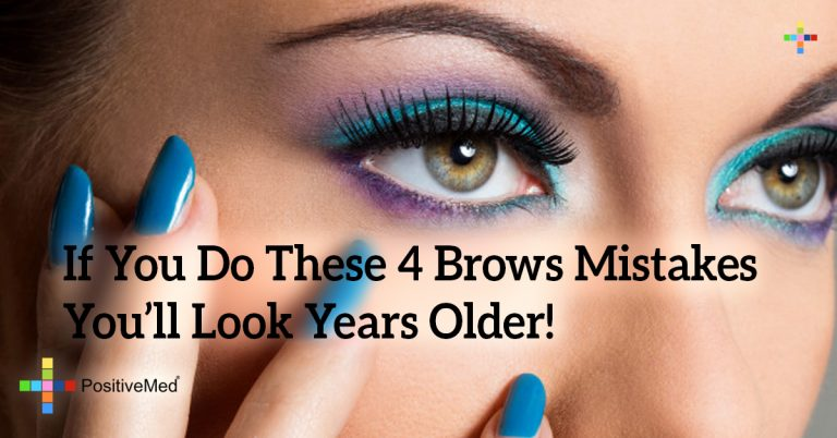 If You Do These 4 Brows Mistakes You'll Look Years Older!