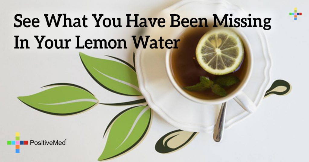See What You Have Been Missing In Your Lemon Water