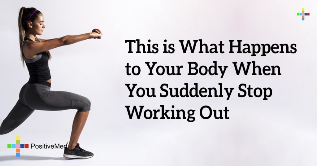 This is What Happens to Your Body When You Suddenly Stop Working Out