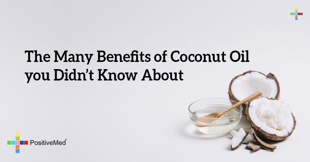 The Many Benefits of Coconut Oil you Didn't Know About