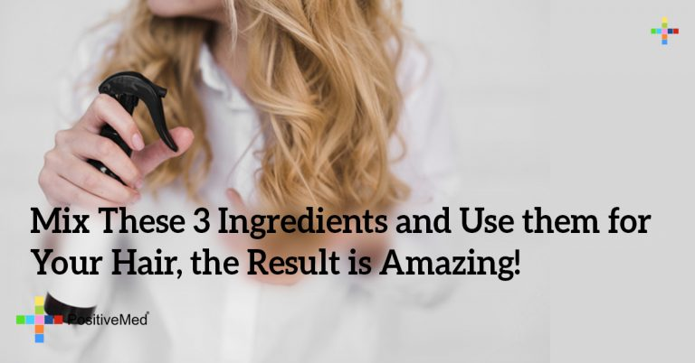 Mix These 3 Ingredients and Use them for Your Hair, the Result is Amazing!