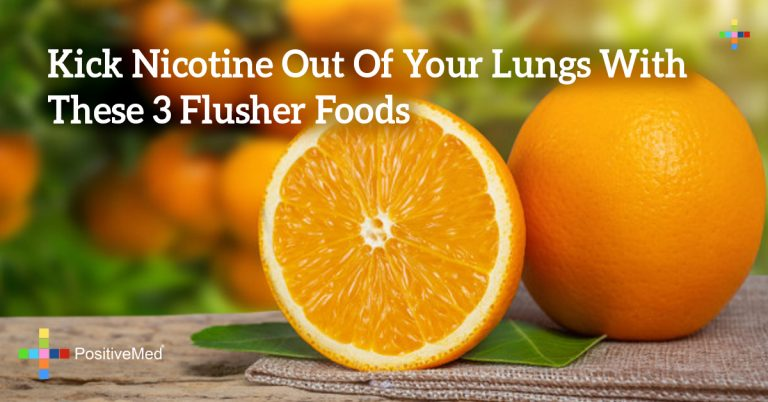 Kick Nicotine Out Of Your Lungs With These 3 Flusher Foods