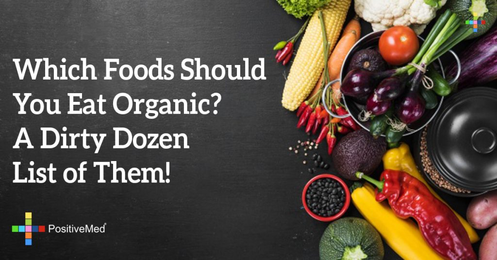 Which Foods Should You Eat Organic? A Dirty Dozen List of Them!