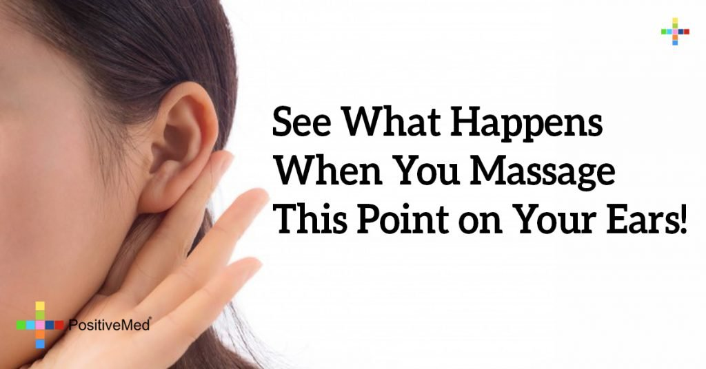 See What Happens When You Massage This Point on Your Ears!