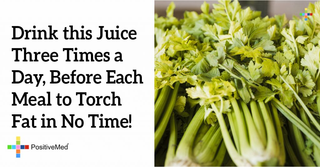 Drink this Juice Three Times a Day, Before Each Meal to Torch Fat in No Time!