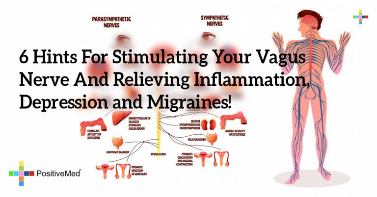 6 Hints For Stimulating Your Vagus Nerve And Relieving Inflammation, Depression and Migraines!