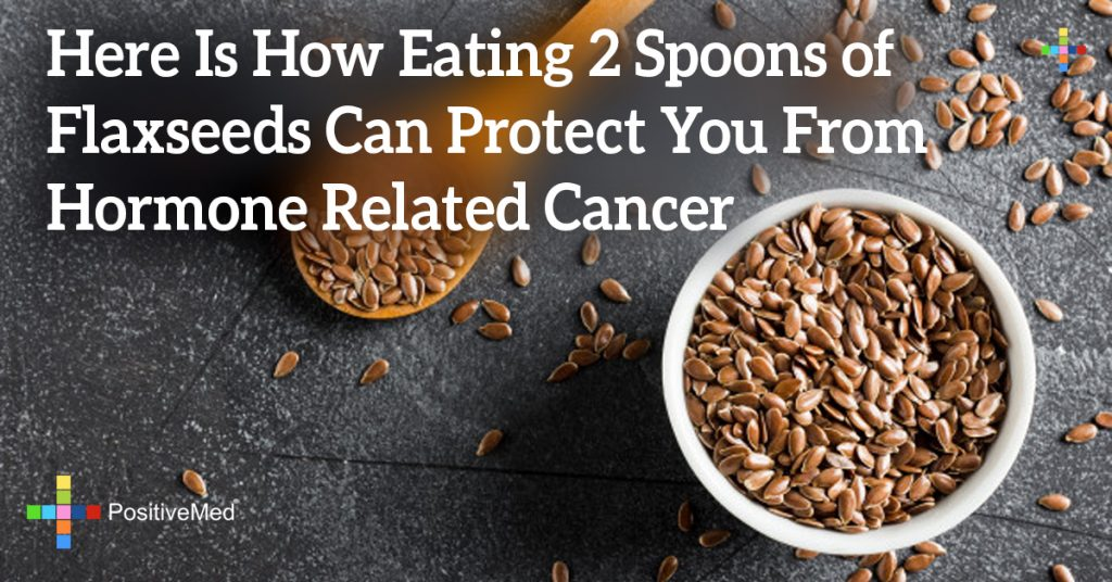 Here Is How Eating 2 Spoons of Flaxseeds Can Protect You From Hormone Related Cancer