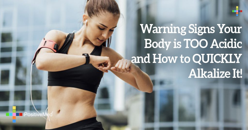 Warning Signs Your Body is TOO Acidic and How to QUICKLY Alkalize It!