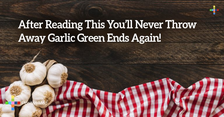 After Reading This You'll Never Throw Away Garlic Green Ends Again!