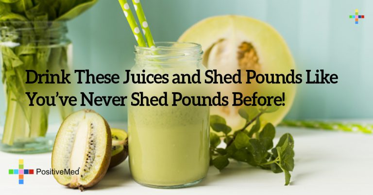 Drink These Juices and Shed Pounds Like You've Never Shed Pounds Before!