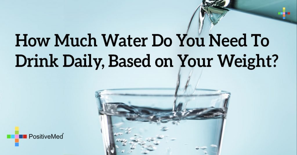 How Much Water Do You Need To Drink Daily, Based on Your Weight?