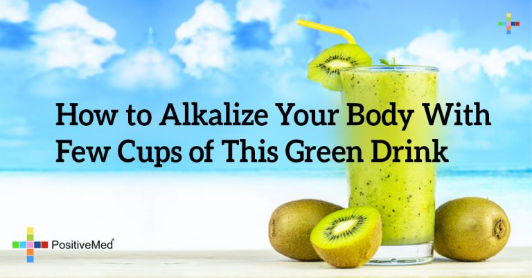 How to Alkalize Your Body With Few Cups of This Green Drink