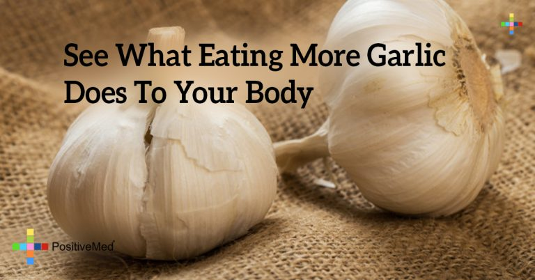 See What Eating More Garlic Does To Your Body