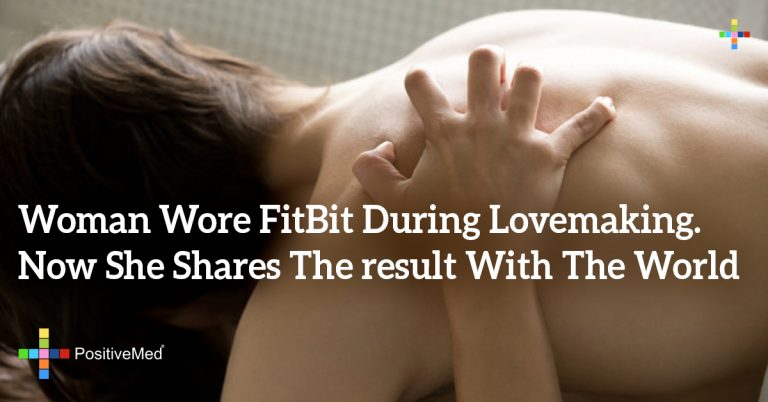 Woman Wore FitBit During Lovemaking. Now She Shares The result With The World