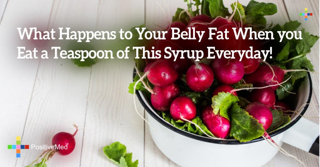 What Happens to Your Belly Fat When you Eat a Teaspoon of This Syrup Everyday!