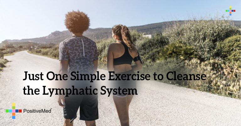 Just One Simple Exercise to Cleanse the Lymphatic System